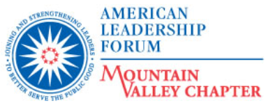 American Leadership Forum – Mountain Valley Chapter